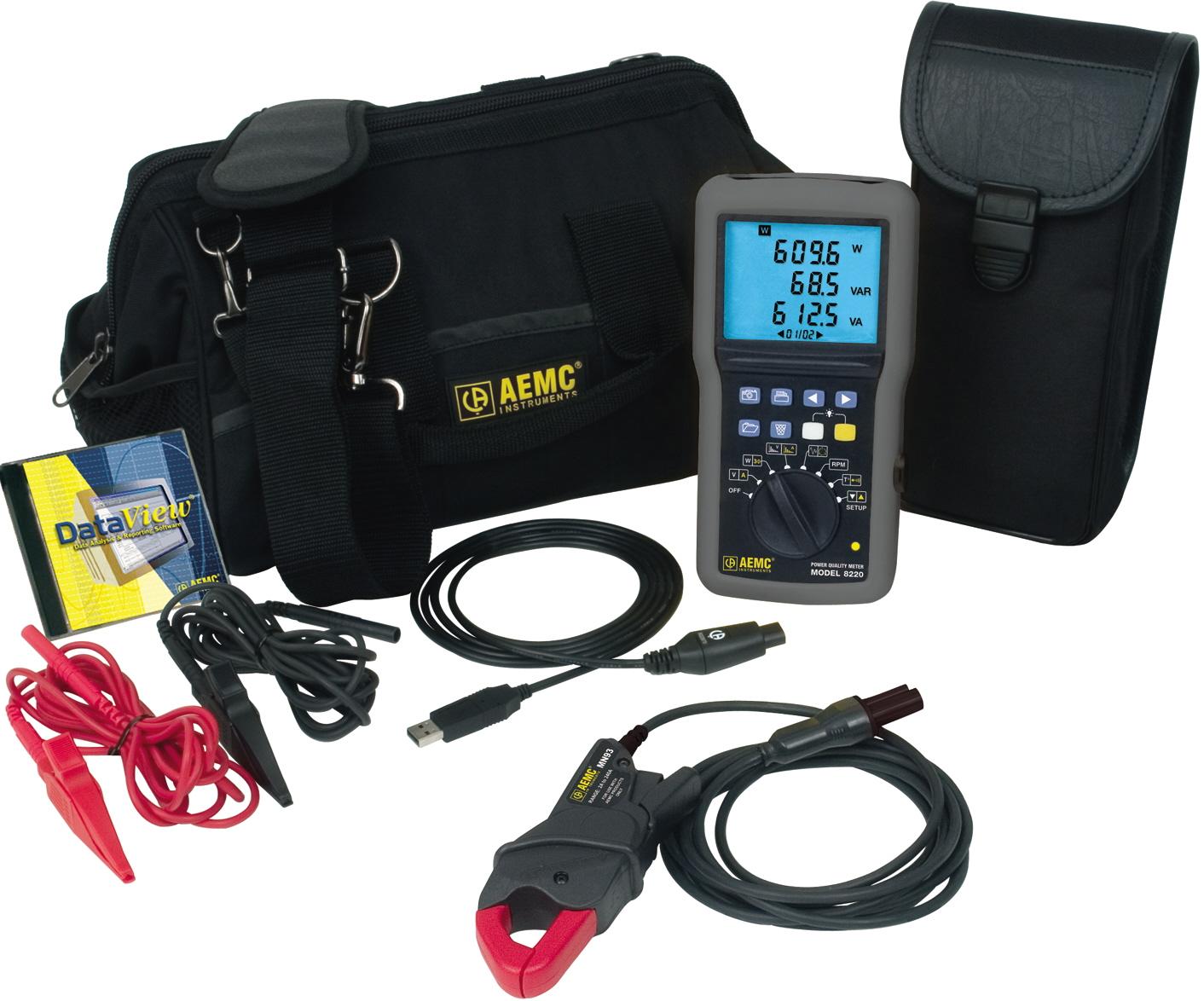 AEMC Instruments 8220 W/MN93-BK