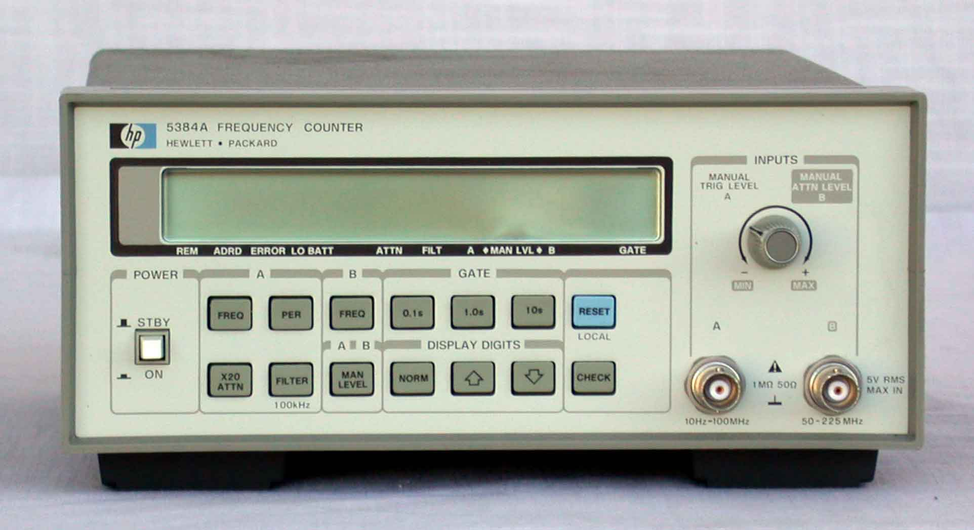 Photo Eye Frequency Counter : Agilent keysight a frequency counters