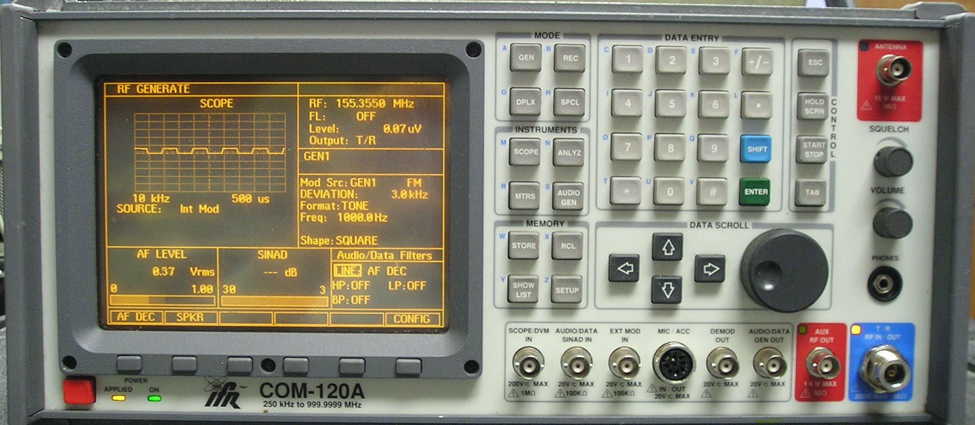 Aeroflex-IFR COM120A