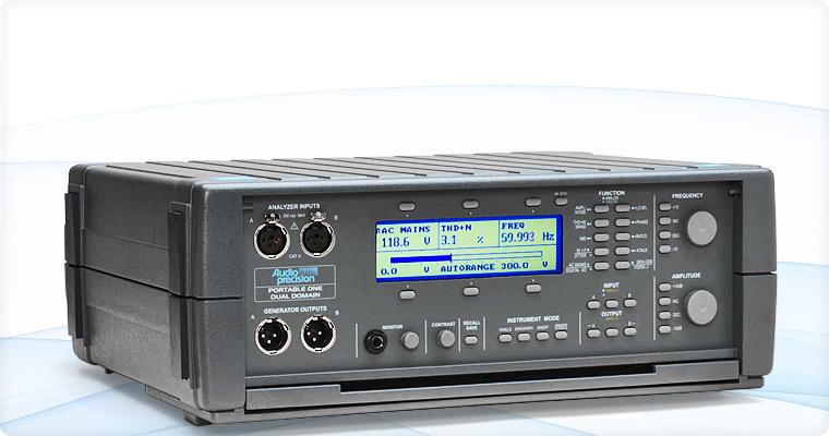 Audio Precision P1DD Portable One Dual Domain