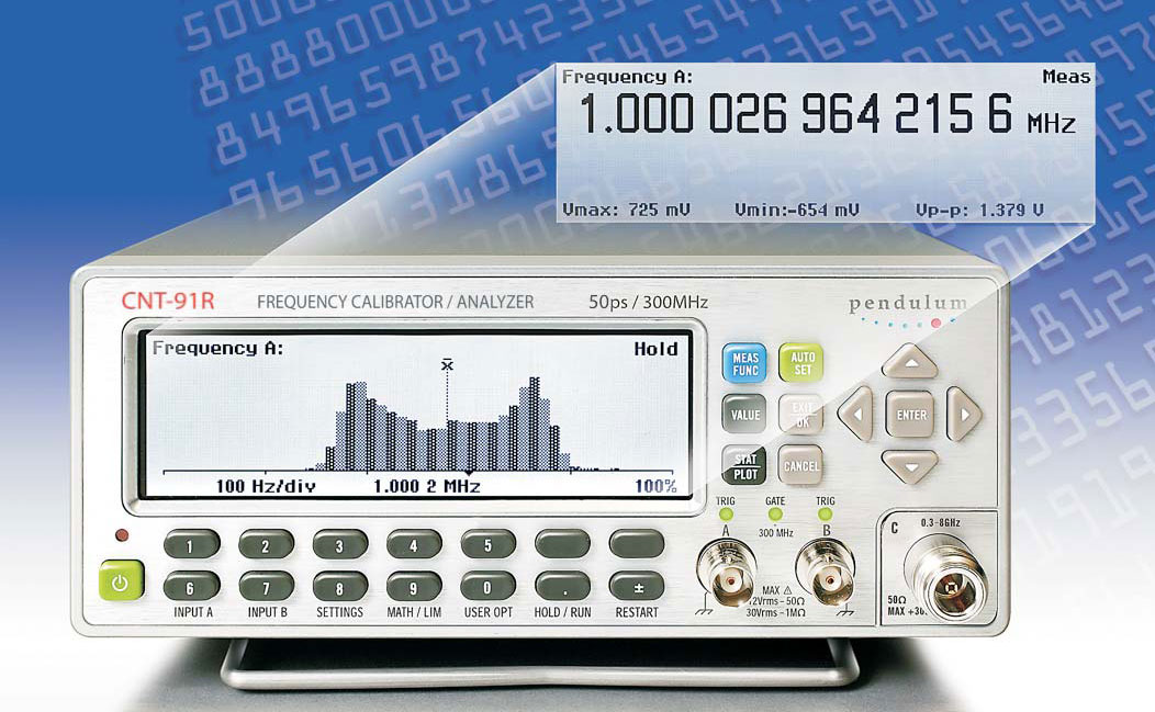 Pendulum Instruments CNT-91R Frequency Calibrator