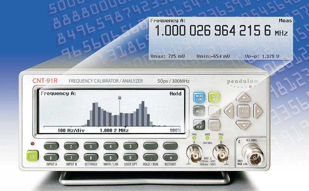 Pendulum Instruments CNT-91R Frequency Calibrator