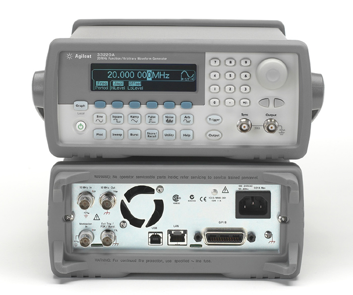 Image of Agilent-HP-33220A by Test Equipment Connection  Corp.