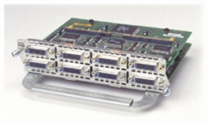 Your Price. 8 port async/sync serial network module.