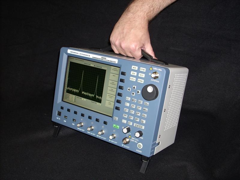 General Dynamics R8000A Communications Analyzer