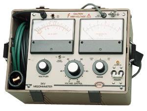 Megger 210415 15 kV Megohmmeter