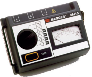 Megger MJ15 5kV Insulation Tester