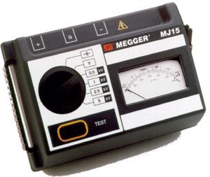 Megger MJ15 5kV Insulation Tester
