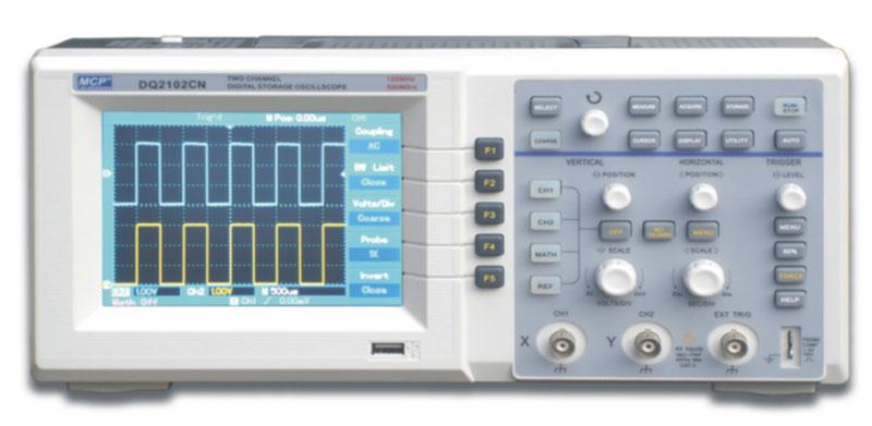 Shanghai MCP DQ2102BN 100MHz Digital Oscilloscope