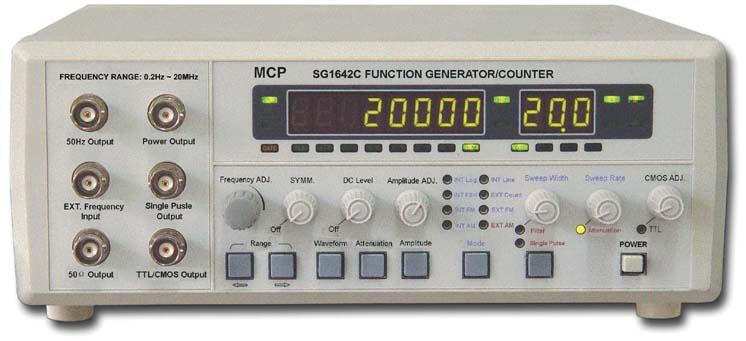 Shanghai MCP SG1642C Multi-waveform Function Generator