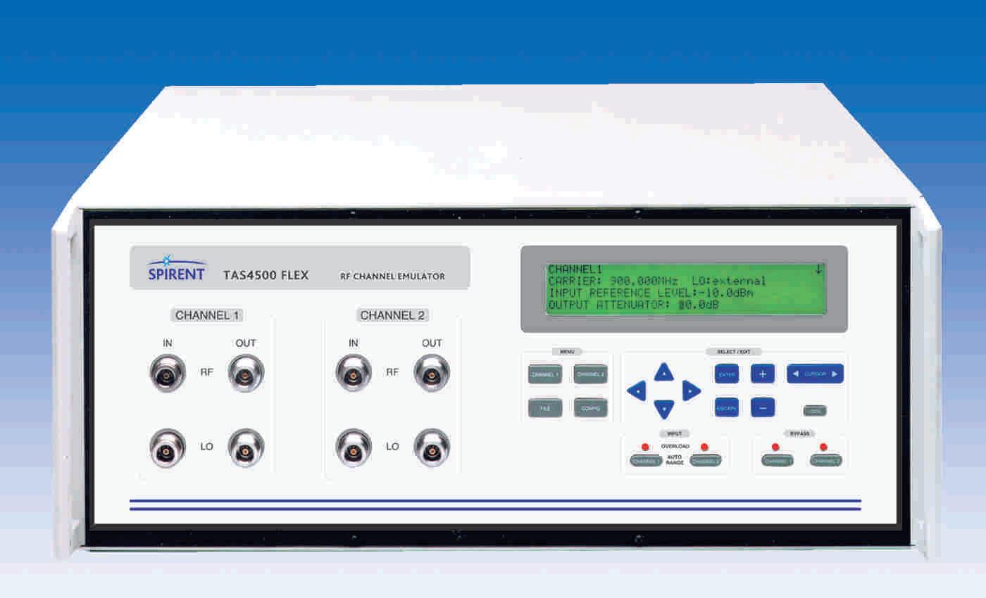 Spirent TAS4500