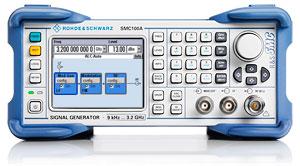 Rohde Schwarz SMC100A Signal Generator base unit